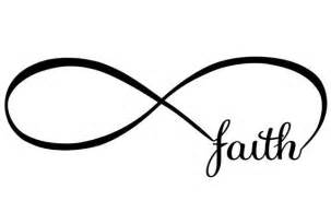 What Does Infinity Faith Infinity Vinyl Decal For Wall Mirror Glass Or
