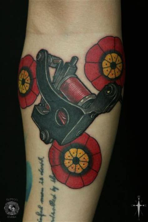 korean tattoo school arm old school tattoo machine tattoo by tattoo korea