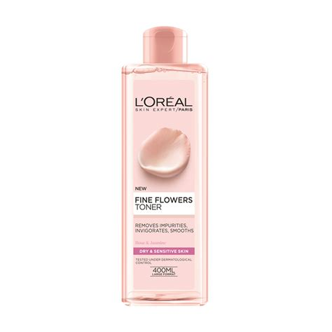 Toner L Oreal l or 233 al flowers cleansing toner 400ml feelunique