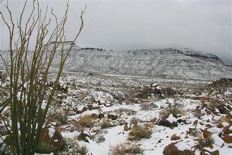 snow in desert snow in the desert