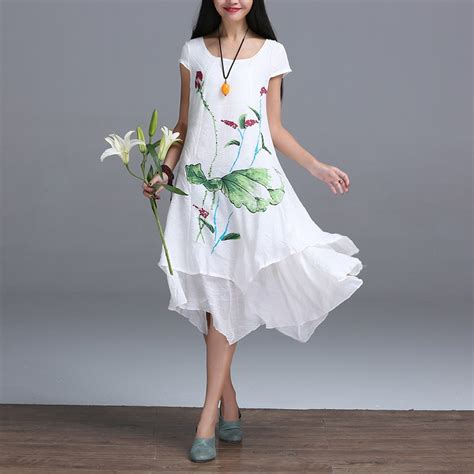 8 Sweet Summer Dresses For Day Or by Cotton Dresses 2017 Summer Style New Fashion