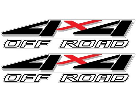 Ford 4x4 Decals by Vinylmark 1999 2000 2001 Ford F 250 F 350 Road