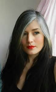 pictures of grey hair with streaks best 25 gray streaks ideas on pinterest silver grey