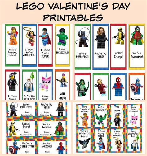 printable batman bookmarks free printable lego valentine s day cards bookmarks