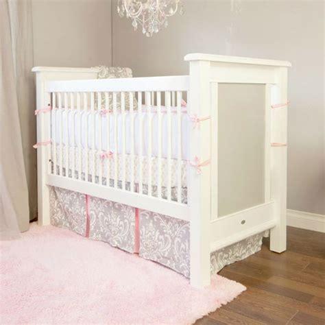Stella Gray Crib Bedding Pink And Gray Crib Bedding Sets Baby Nursery