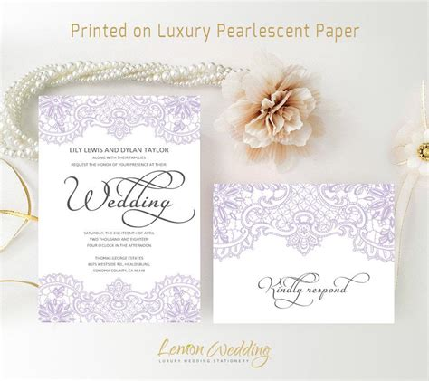Purple Wedding Invitation Paper by Purple Wedding Invitations Printed On Luxury Shimmer Paper