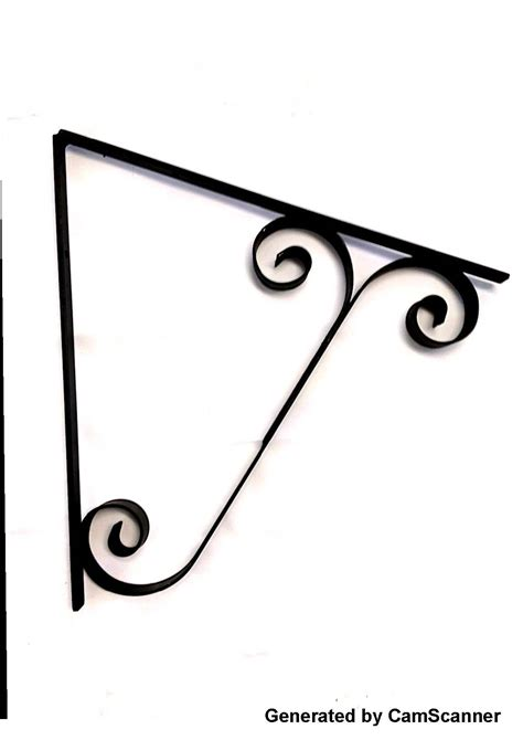 awning bracket window awning brackets optional double scroll style