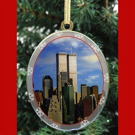 world trade center new york christmas ornament ny