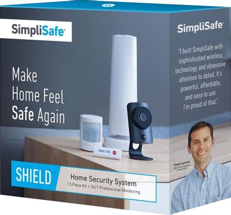 simplisafe shield wireless home security system bby ss2 sh