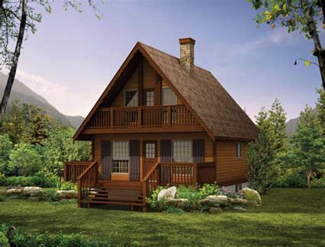 2 Story Cottage by Cottage Style House Plans 1073 Square Foot Home 2