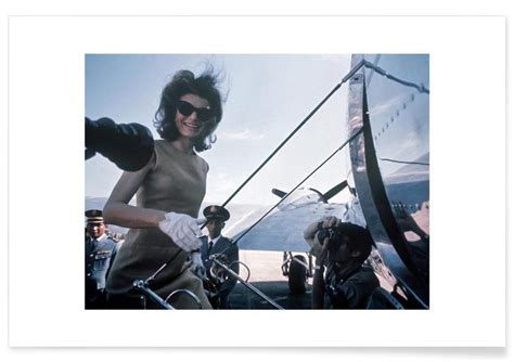 Duschvorhang Modern 1962 by Jackie Kennedy 1962 Asia Visit Als Premium Poster Juniqe