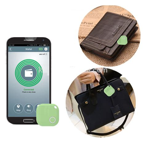Bluetooth Tracker Anti Lost itrack wallet fitted pets elderly bluetooth anti