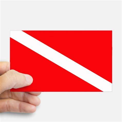 dive flag scuba diving bumper stickers car stickers decals more