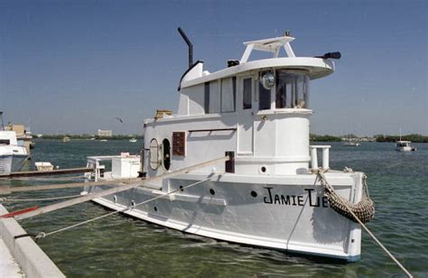 liveaboard tugboat for sale florida memory live aboard tug boat quot jamie lee quot owned