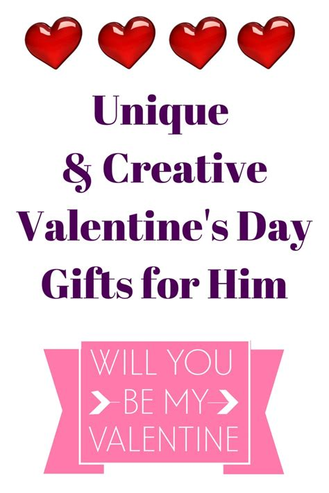 creative valentines ideas for him unique creative s day gifts for him