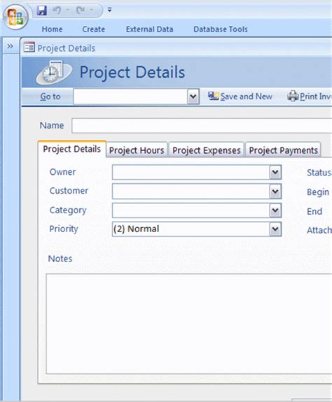 microsoft access 2007 templates for invoices ms access templates free download hardhost info