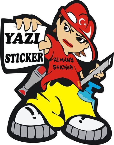 Duvar Sticker Yazi