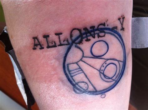 allons y tattoo pin by walls on tattoos