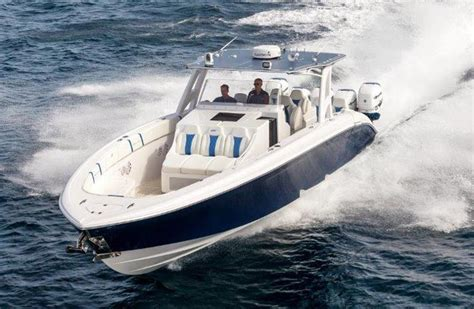 midnight express boat test midnight express offers new offshore muscle with