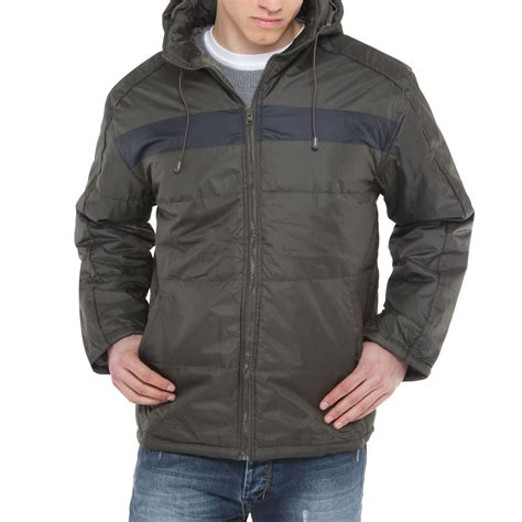 Jacket Boomber Waterproof 7 mens hooded quilted padded waterproof thick warm jacket