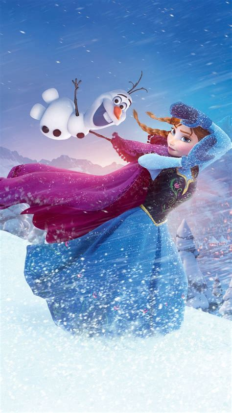 Wallpaper Iphone 6 Olaf | 2014 halloween frozen anna olaf iphone 6 plus wallpaper