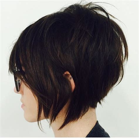 messy inverted bob hairstyles messy look hairstyle for short hair latesthairstyless us