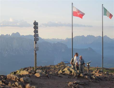 rittner horn haus sarntaler alpen hiking trekking wandern huettentour