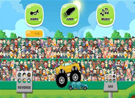 monster truck games videos for kids app shopper monster truck game for kids games