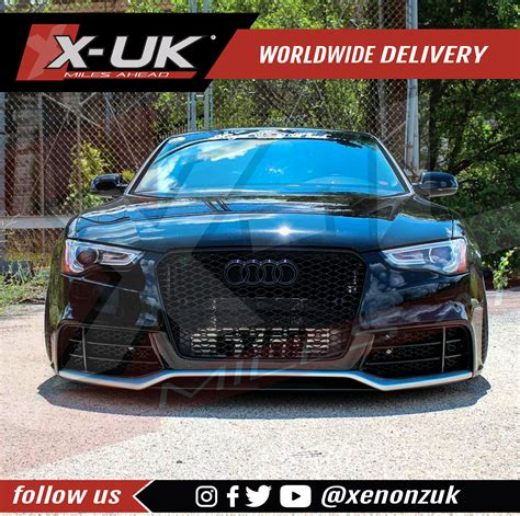 Audi A5 Front by Rs5 Style Front Bumper Conversion For Audi A5 S5 2012 2015