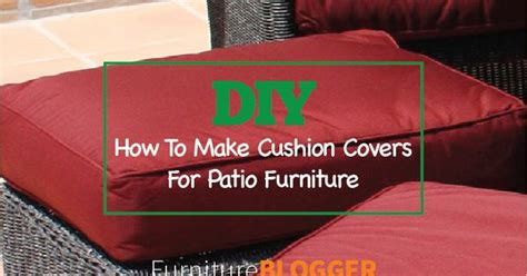 diy outdoor furniture cushion covers diy how to make cushion covers for patio furniture