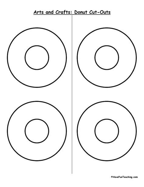 cut outs donut cutouts