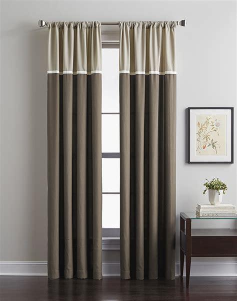 Accolade color block curtain panel curtainworks com