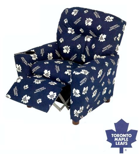 recliner chairs toronto sta1300 toronto maple leafs recliner chair furtado furniture
