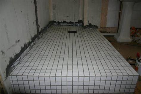 """flooring   How do you build a """"wet room"""" style bathroom"""