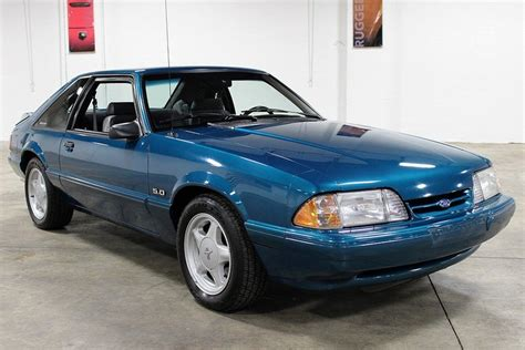 10k mile 1993 ford mustang lx 5 0 bring a trailer