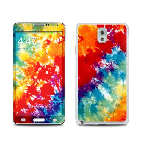 Casing Samsung Galaxy Note 3 Background Tongue Custom Hardcasee tie dyed samsung galaxy note 3 skin covers samsung galaxy note 3 for custom style and protection
