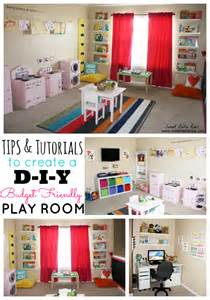 playroom ideas tips tutorials to create a budget friendly diy play room