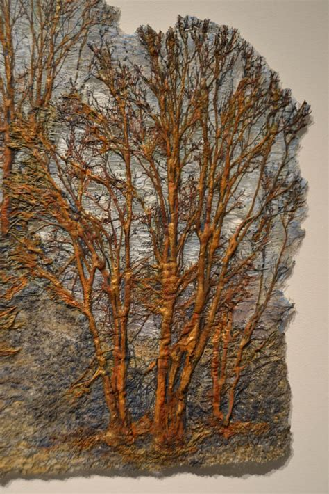 fiber artist journey trees as fiber art
