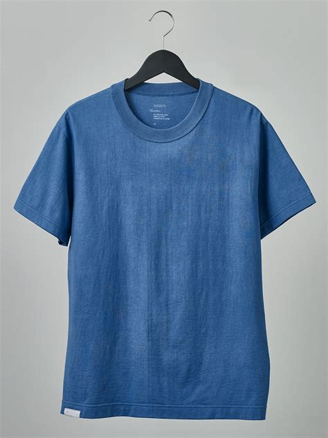 T Shirt Indigo buaisou 215 faculty inked indigo t shirt faculty