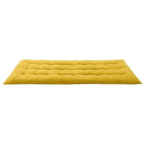 materasso 90x190 materasso gaddiposh giallo in cotone 90 x 190 cm sixties