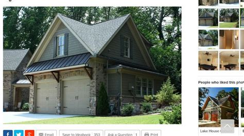 Awning Garage by 184 Best Images About Houses On Country House Plans 3 Car Garage And Craftsman