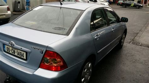 automotive repair manual 2005 toyota corolla head up display 2005 toyota corolla for sale in lucan dublin from riadh0210