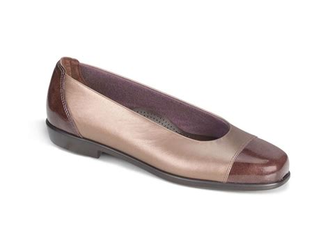 Sas Shoes Gift Card - sas coco bronze leather slide flat ebay