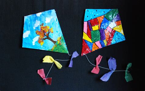 kite craft for that artist finger kites