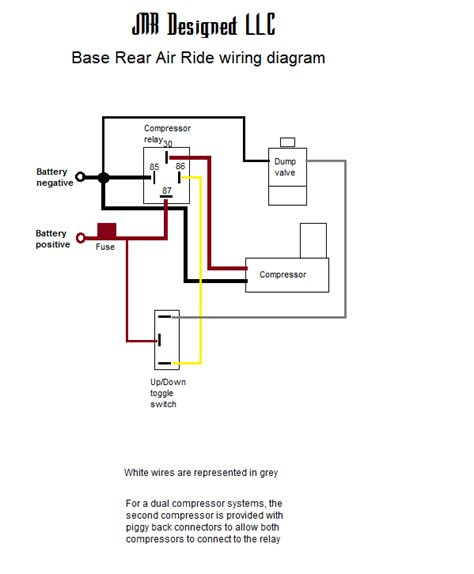 harley air ride wiring diagram harley air ride suspension