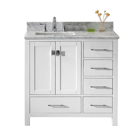 virtu usa bathroom vanities bath the home depot