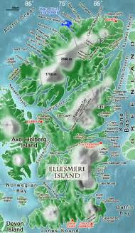where is ellesmere island on a map of canada opinions on ellesmere island