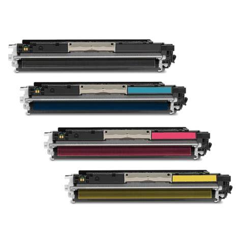 Toner Color Hp Laserjet hp laserjet pro 100 color m175n toner cartridges black