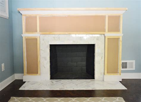 how to build building a gas fireplace surround pdf plans