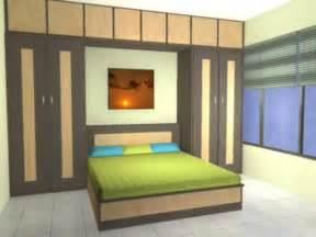 small bedroom with wardrobe all custom